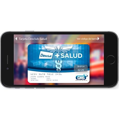 Tarjeta Desclub + Salud Virtual